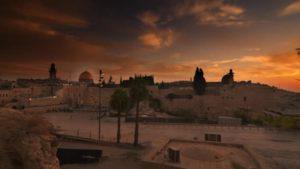Jeruzalém před slunovratovým rozbřeskem